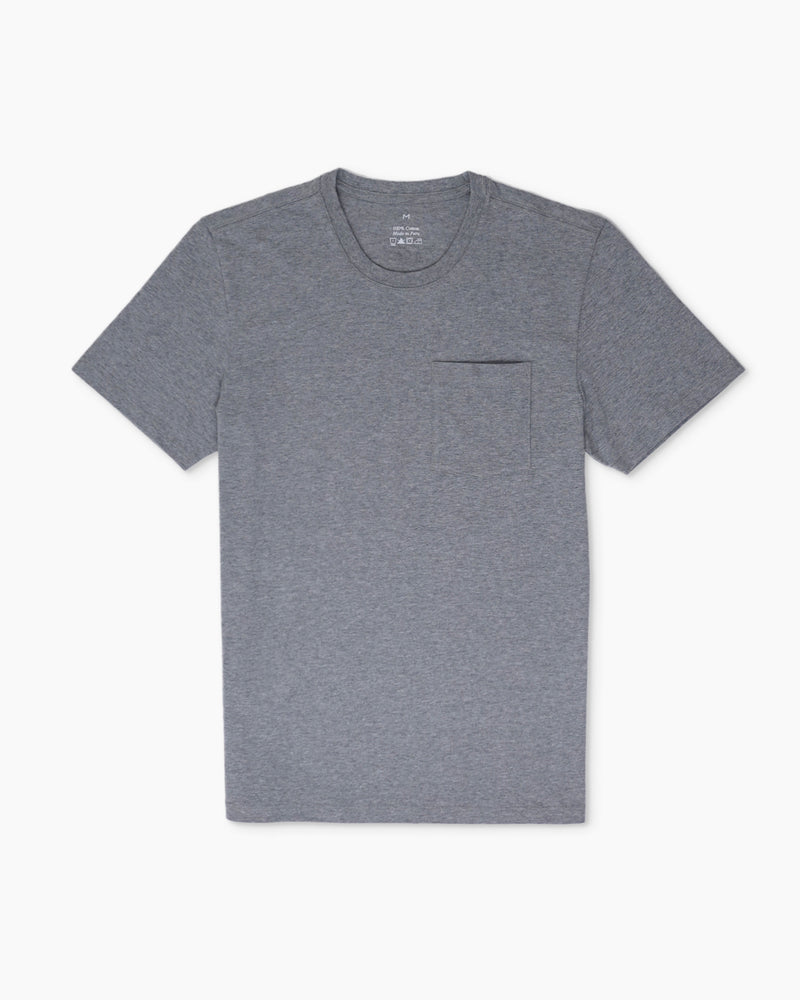 Luxe Touch Pima Pocket Tee