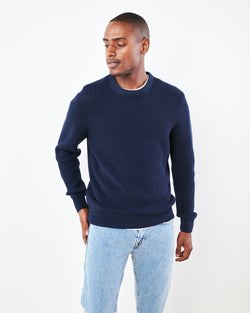 Australian Merino Fisherman Sweater
