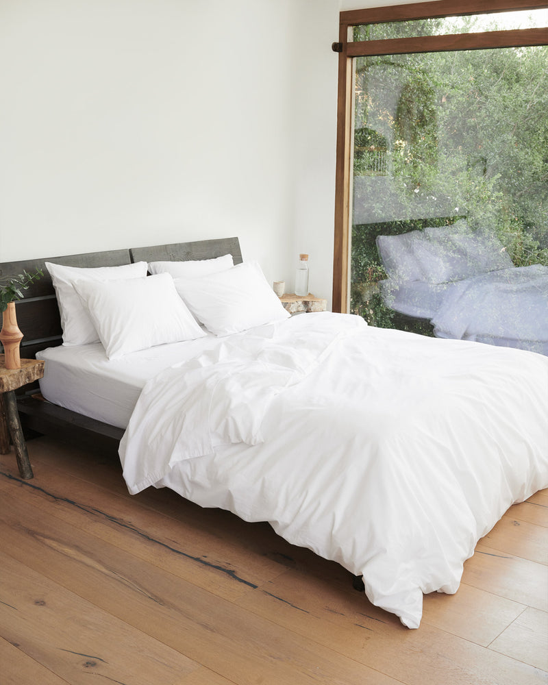 Organic Percale Deluxe Bedding Bundle