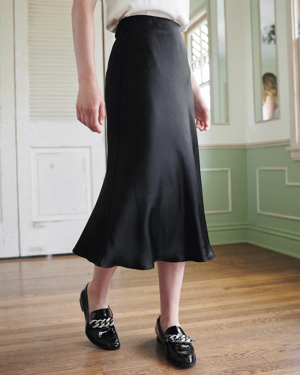 Washable Silk Skirt