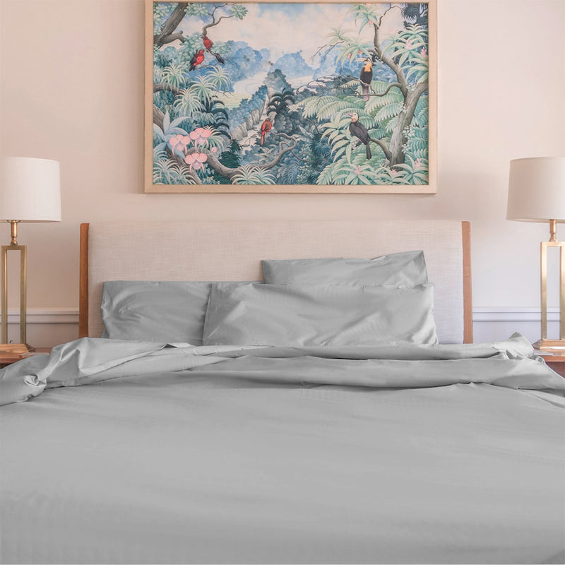 Organic Percale Luxe Duvet Cover