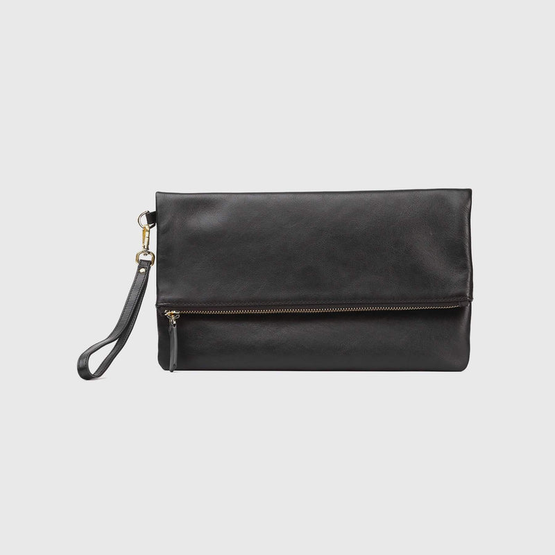 Italian Leather Clutch