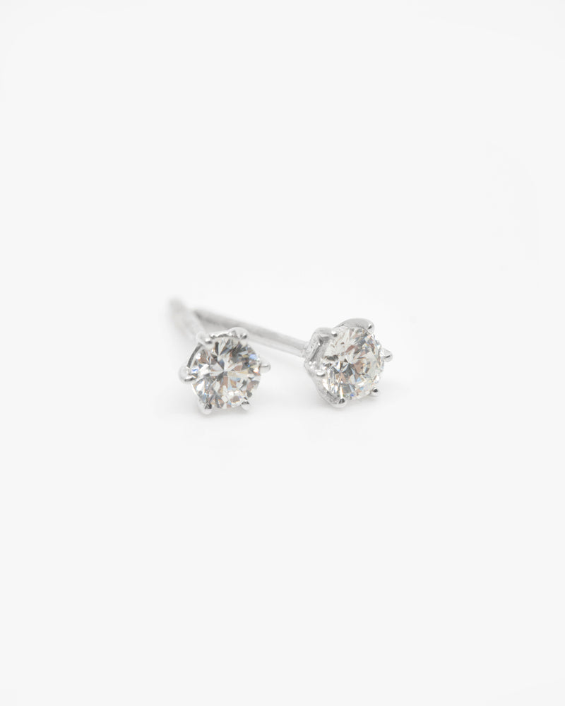 Classic Diamond Stud Earrings 0.50 carat
