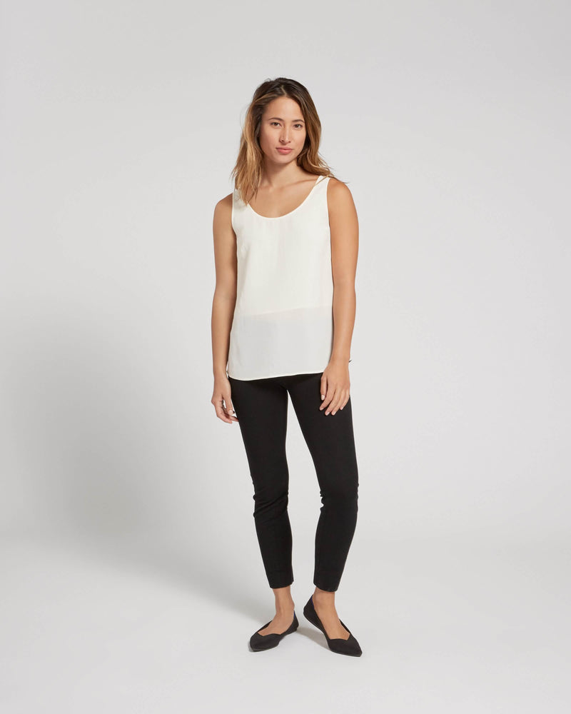 Premium Washable Silk Tank