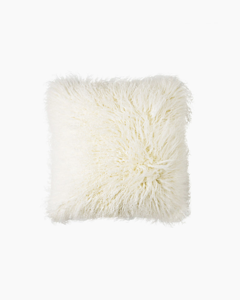 Luxe Mongolian Lamb Pillow Cover