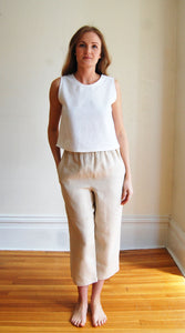 The Gladys Pants in Linen