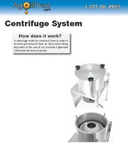 Personalized Centrifuge Brochure