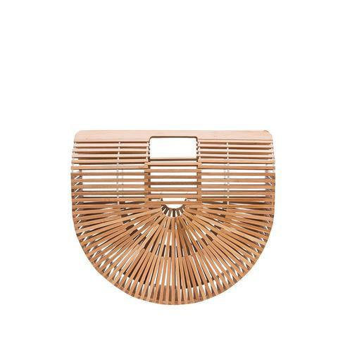 Natural Bamboo Handbag