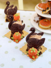 Load image into Gallery viewer, French Pastry Swan for Autumn - 12th Scale French Miniature Food