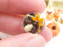 Load image into Gallery viewer, Chocolate Jack O Lanterns - Halloween / Autumn - 12th Scale Miniature Food