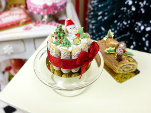 Christmas Charlotte - 12th Scale Miniature Food