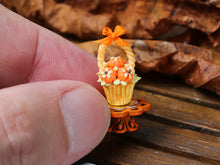 Load image into Gallery viewer, Autumn Showstopper Cupcake - Pumpkin Basket (B)