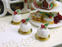 Load image into Gallery viewer, Boule de Neige (Snowball) - French Christmas Pastry - Miniature Food
