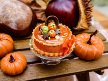 Load image into Gallery viewer, French Caramel and Chocolate 'Spilt Cup' Autumn Gateau - 12th Scale Miniature Food