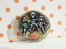 Load image into Gallery viewer, Skeleton Cookies for Halloween Fall / Autumn - 12th Scale Miniature Food