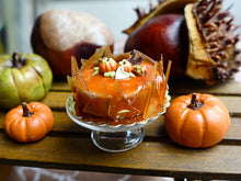 Load image into Gallery viewer, French Caramel Autumn Gateau - 12th Scale Miniature Food