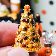 Load image into Gallery viewer, French Croquembouche for Autumn / Fall / Thanksgiving - Miniature Food