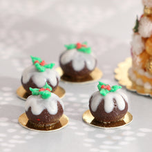 Load image into Gallery viewer, Baby Christmas Pudding - Individual Pastry - 12th Scale Miniature Food