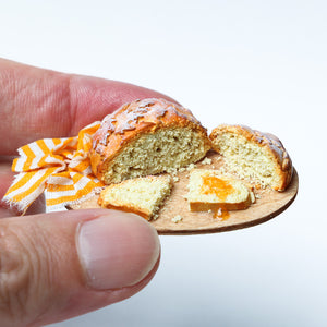 Autumn Leaf Bread with Jelly (Jam) - 12th Scale Miniature Food