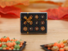 Load image into Gallery viewer, Gift Box of Pumpkin-Shaped Chocolates for Autumn (Dulcey!) - Miniature Food