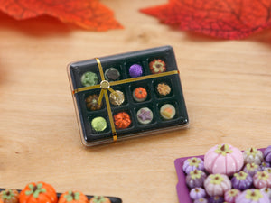 Gift Box of 12 Chocolates for Autumn - Miniature Food