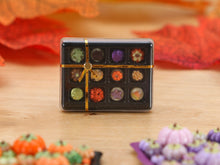 Load image into Gallery viewer, Gift Box of 12 Chocolates for Autumn - Miniature Food