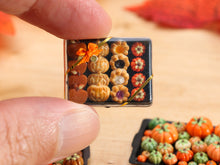 Load image into Gallery viewer, Gift Box of Autumn and Halloween Themed Treats -  Miniature Food