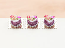 Load image into Gallery viewer, Valentine's Day Blossom Individual Pastry - Miniature Food