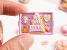 Load image into Gallery viewer, Marie-Antoinette Inspired Cookies - Parisian Bakery Cake, White Chocolate Cameo