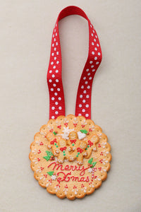Handmade Christmas Tree Cookie Decoration for Full Sized Trees! OOAK