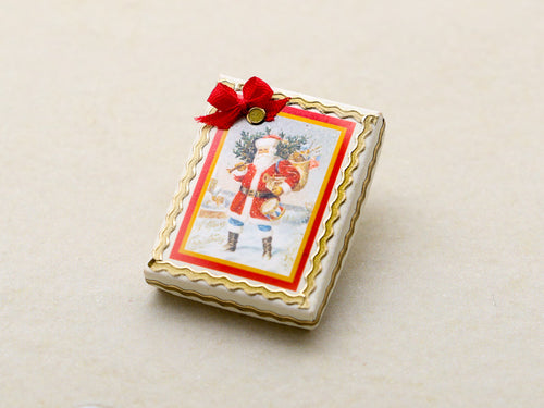 Seasonal Christmas Cookies Gift Box - OOAK Handmade Miniature Food in 12th Scale