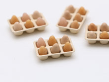 Load image into Gallery viewer, Tray of Half a Dozen Eggs - Miniature Food