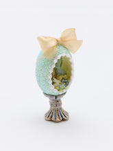 Load image into Gallery viewer, Panoramic Easter Egg - OOAK (one of a kind) Miniature Easter Decoration