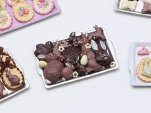 Load image into Gallery viewer, Assorted Easter Chocolates on Tray - Miniature Food