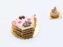 Load image into Gallery viewer, Easter Teapot-Shaped Layered Cookie (Millefeuille Sablé)