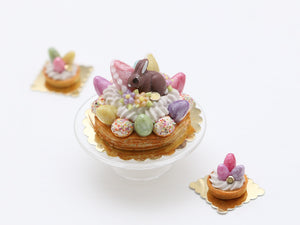 Easter St Honoré - French Pastry Miniature Food