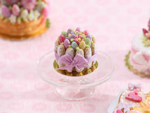 Load image into Gallery viewer, Easter Charlotte - Handmade Miniature Food