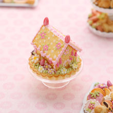 "Load image into Gallery viewer, Handmade Miniature ""Blossoms"" Cookie Easter House - OOAK - Miniature Food in 12th Scale"