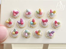 Load image into Gallery viewer, Three Handmade Miniature Meringue Nests with Colourful Candy Eggs