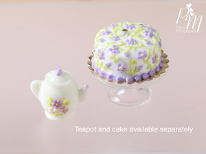 Lilac Blossoms Cake - Miniature Food