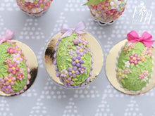 Load image into Gallery viewer, Spring Garden Blossom Easter Egg Cake for Spring (C - Lilac)
