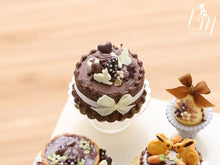 Load image into Gallery viewer, Chocolate Cake with Easter Decoration in Dark, Milk and White Chocolate