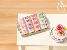 Load image into Gallery viewer, Tray of gift iced Cookies - Miniature Food