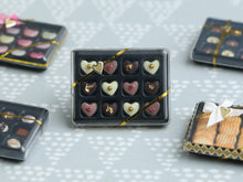 Load image into Gallery viewer, Luxurious Box of Heart-Shaped Chocolates - Miniature Food