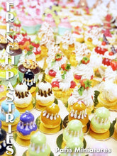 Load image into Gallery viewer, Pistachio Religieuse - French Pastry in 12th Scale - Handmade Dollhouse Miniature Food