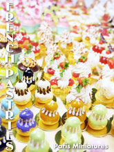 Load image into Gallery viewer, Choux Chantilly - Cream-filled Choux Bun - 12th Scale Miniature Food
