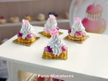 Load image into Gallery viewer, Marie Antoinette St Honoré - Handmade Miniature Food