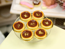 Load image into Gallery viewer, Tartelette au Chocolat - Chocolate Tartlet - Individual French Miniature Food in 12th Scale