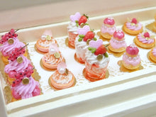 Load image into Gallery viewer, Pink Dome French Cake - 'Let Them Eat Cake' - 12th Scale Miniature Food