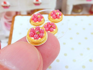 Raspberry Tartlet - 12th Scale Miniature Food